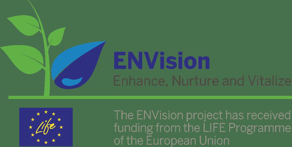 ENVision project logo/LIFE Programme EU